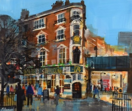 Mike Bernard R.I., The Blackfriars Pub, London