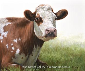Alexandra Klimas, Jessie the Cow