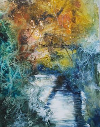 Ann Blockley RI SWA, Evening River