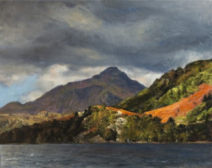 FRED SCHLEY at 60 Paintings of the Netherlands, the Isle of Skye & Wales