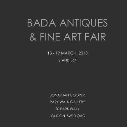 BADA Antiques & Fine Art Fair 2013