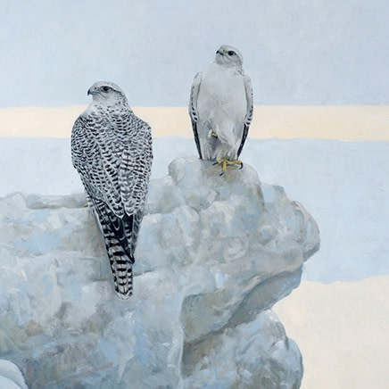 Bold ● Large ● Layered ● Minimalist: The Wildlife Art of Ron Kingswood