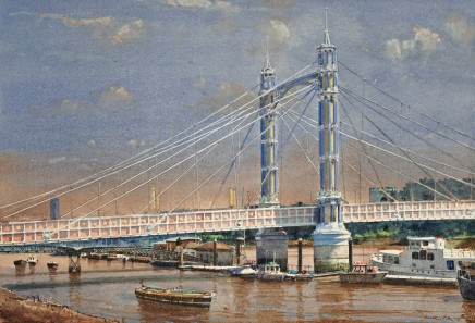 Jonathan Pike, Albert Bridge