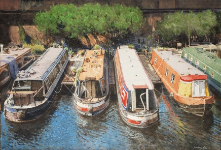 Jonathan Pike, Barge's on the Regent's Canal