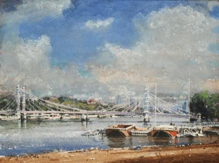 Jonathan Pike, Albert Bridge from the South
