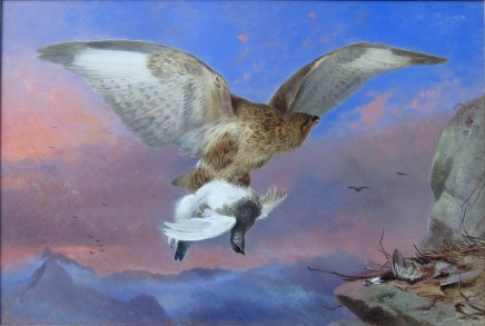 Richard Ansdell R.A., Buzzard and Ptarmigan