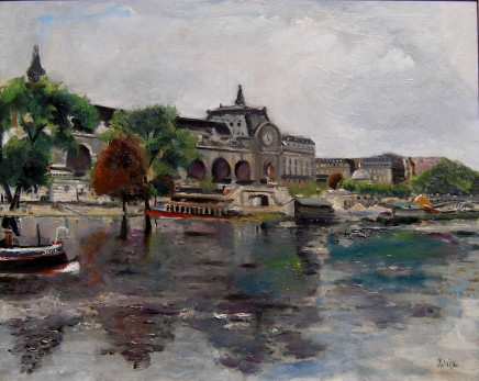 Lucien Adrion, Musee d'Orsay, Paris