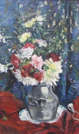 Lucien Adrion, Still life of flowers