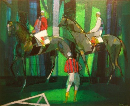 Camille Hilaire, The Paddock