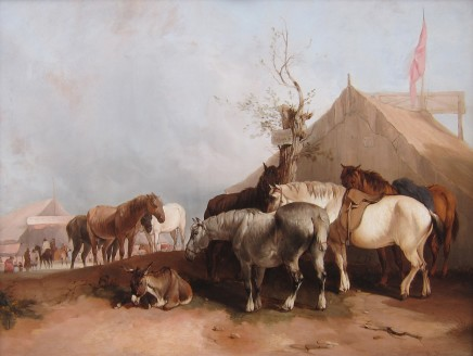 William Shayer, The Horse Fair