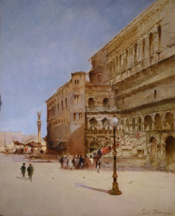 Paul Vernon, Middle Eastern City View