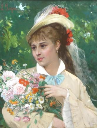 Leonardo Gasser, The Flower Girl