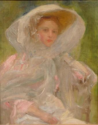 Albert de Belleroche, Portrait of a young woman