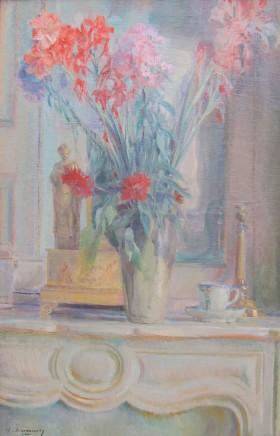 Adrian Karbowsky, Flowers in a vase