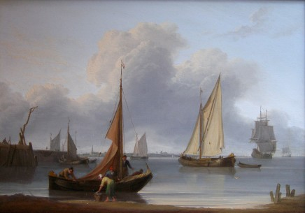 William Anderson, Dutch coastal scene