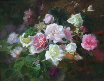 Marc-Laurent Bruyas, Study of Roses