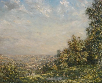Philip Wilson Steer, The Golden Valley, Stroud