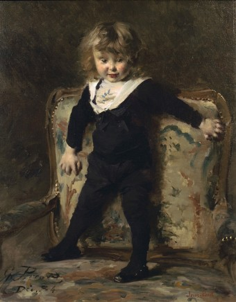 Georges Picard, Portrait of a little boy