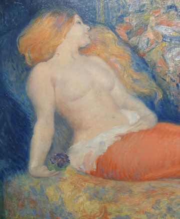Louis-Auguste-Mathieu Legrand, Nude, 1904