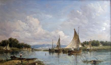 Alfred Vickers, River Scene