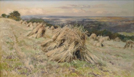 Keeley Halswelle, A Cornfield at Harvest