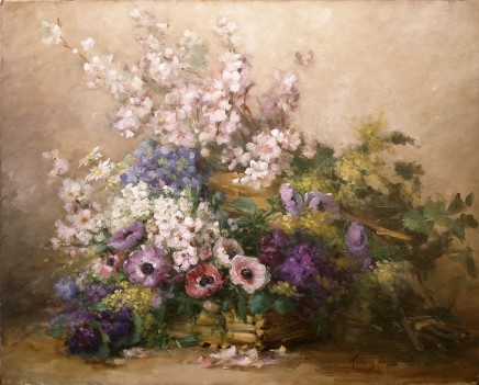 Albert-Tibulle Furcy de Lavault, Mixed Spring flowers