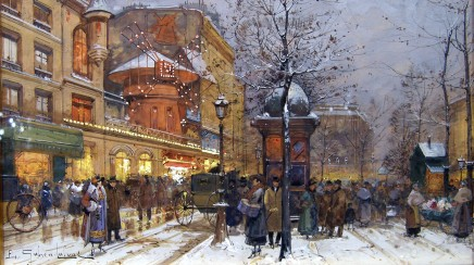 Eugene Galien Laloue, Le Moulin Rouge