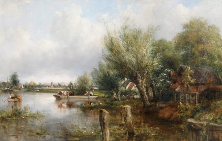 Frederick William Watts, The Thames, near Henley