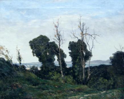 Henri-Joseph Harpignies, Landscape in Evening Light