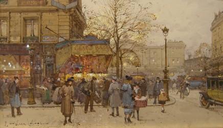 Eugene Galien Laloue, Gare de L'Est