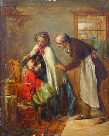 Thomas Webster, A visit to the dentist