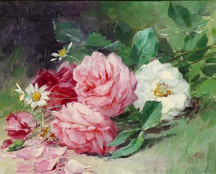 Albert-Tibulle Furcy De Lavault, Mixed flowers