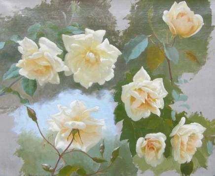 Gustave Bienvetu, Study of roses