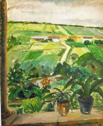 Jules Cavailles, Window Scene