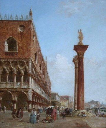 Edward Pritchett, The Ducal Palace from the Piazzetta