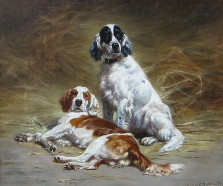 Jules-Bertrand Gelibert, Two Dogs