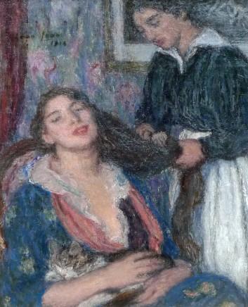 Edmond Francois Aman-Jean, La coiffure