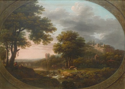 John Collett, Landscape with river and castle