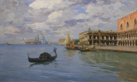 Ferdinando Silvani, Venetian View (I of II)