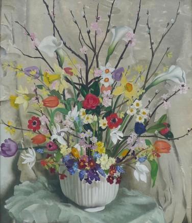 Anna Zinkheisen, Spring flowers