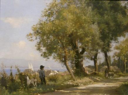 Leon Gaud, The Goatherd