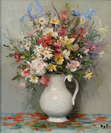 Marcel Dyf, Summer flowers