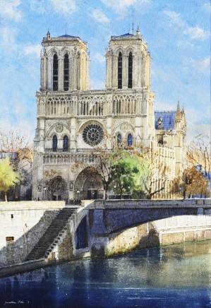 Jonathan Pike, Notre Dame, Paris