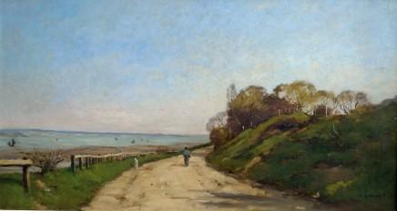 Pierre Emmanuel Damoye, Path by a river