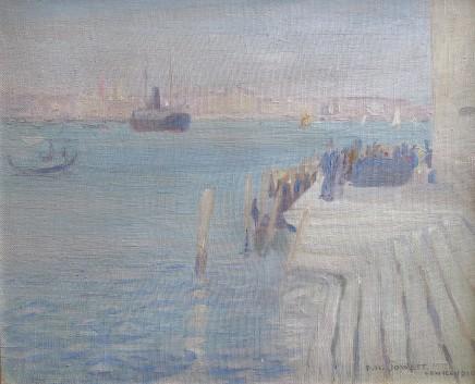 Percy Hague Jowett, Venetian Scene, 1910