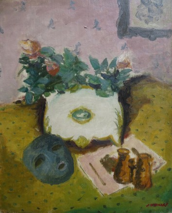 Jules Cavailles, Still Life With Mask