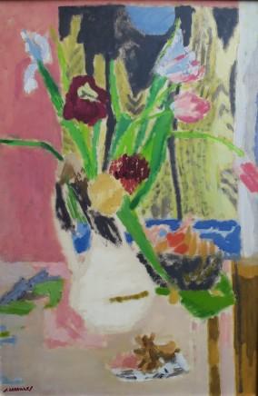 Jules Cavailles, Tulips and Irises