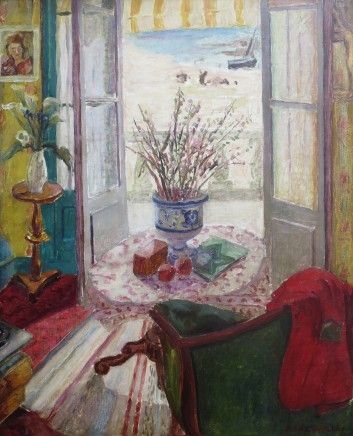 Jules Cavailles, View Through A Window