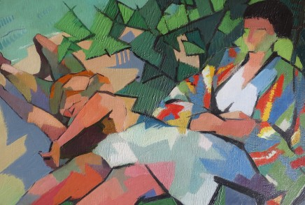 Jean Viollier, Summer Afternoon, 1962