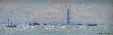 Andre Hambourg, View of New York